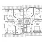 Dachgeschossgrundriss